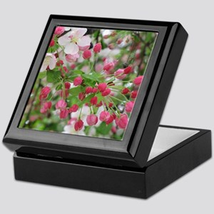 Cherry Blossoms Keepsake Box